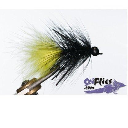 d3fa2f203 Isca de Fly Scientific Fly Half Chicken  1 0 Black Yellow und.