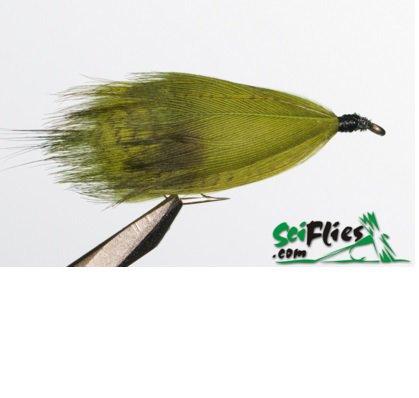 4db59292f Isca de Fly Scientific Fly Hammils Killer Marabou  10 Olive und.