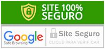 Selo de site seguro do Google