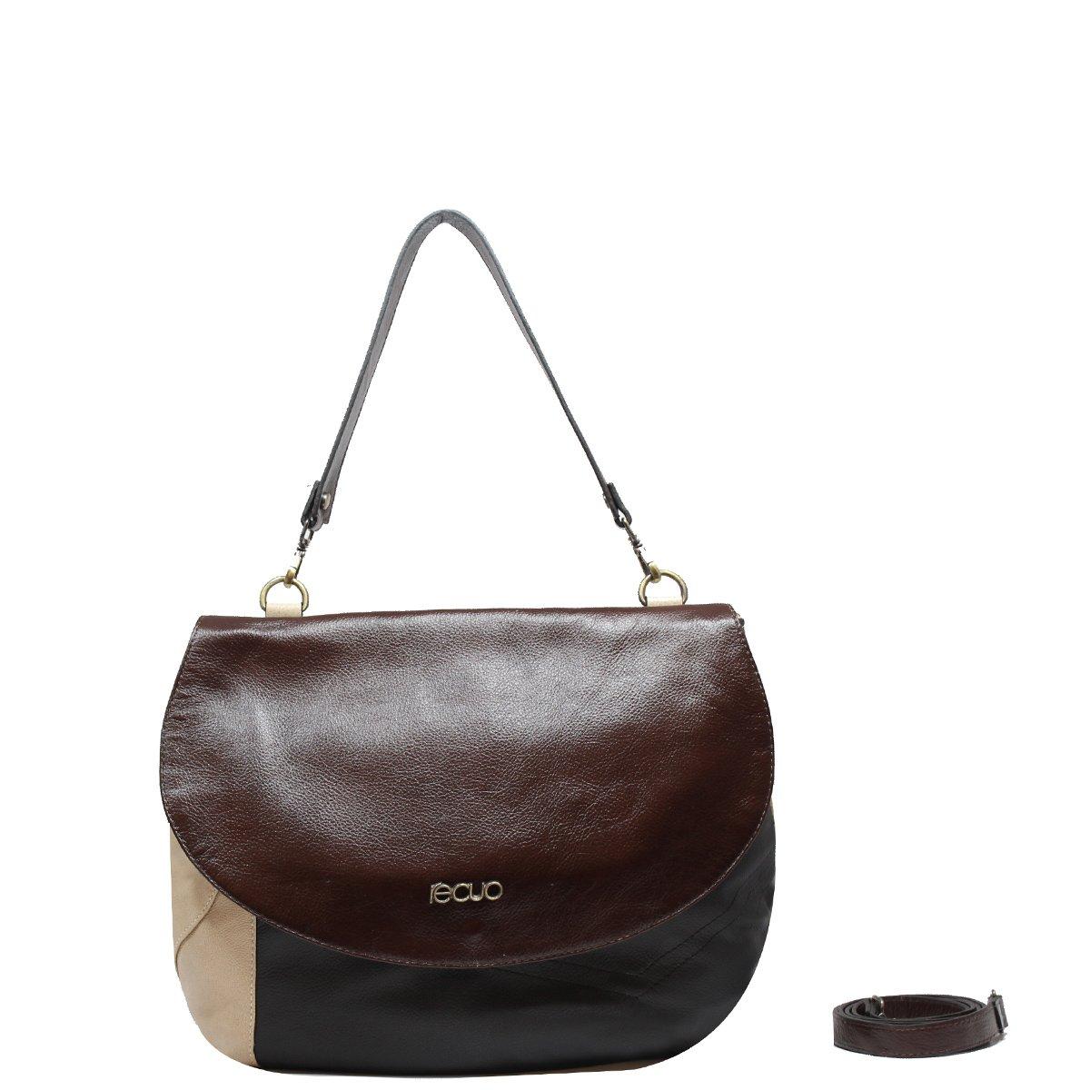 d8c4b4b05968f Loja Recuo Fashion Bag   Bolsas em Couro Legítimo   BOLSA MÉDIA EM ...